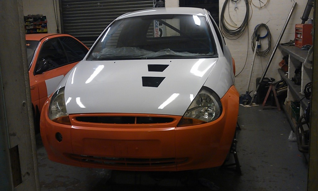 Now Sold Ford Ka Starter Rally Car Msa Class A Class  Car With Big Spec And Spares Package