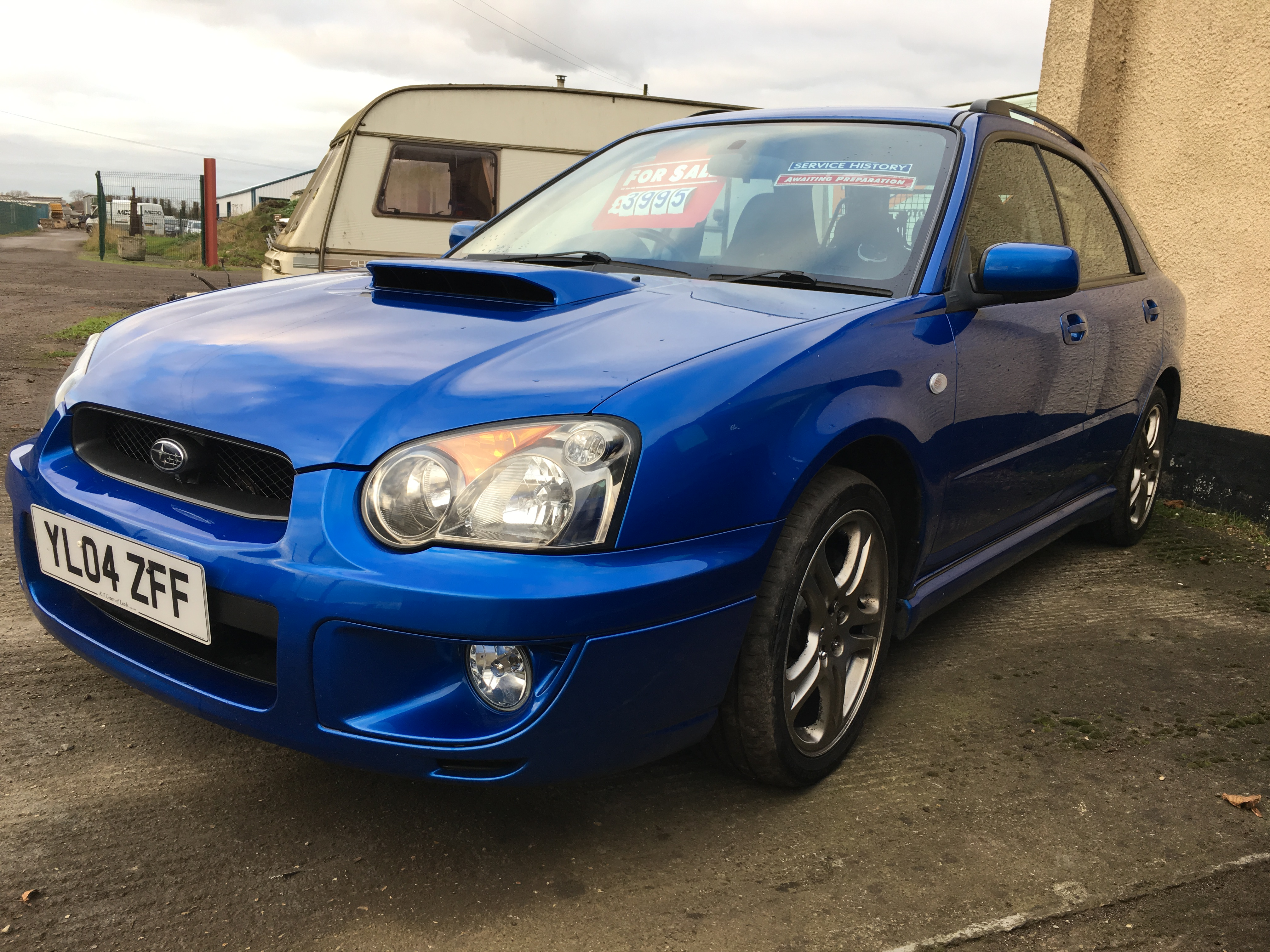 Subaru impreza wrx turbo prodrive performance pack 1 owner for Subaru wrx with blown motor for sale