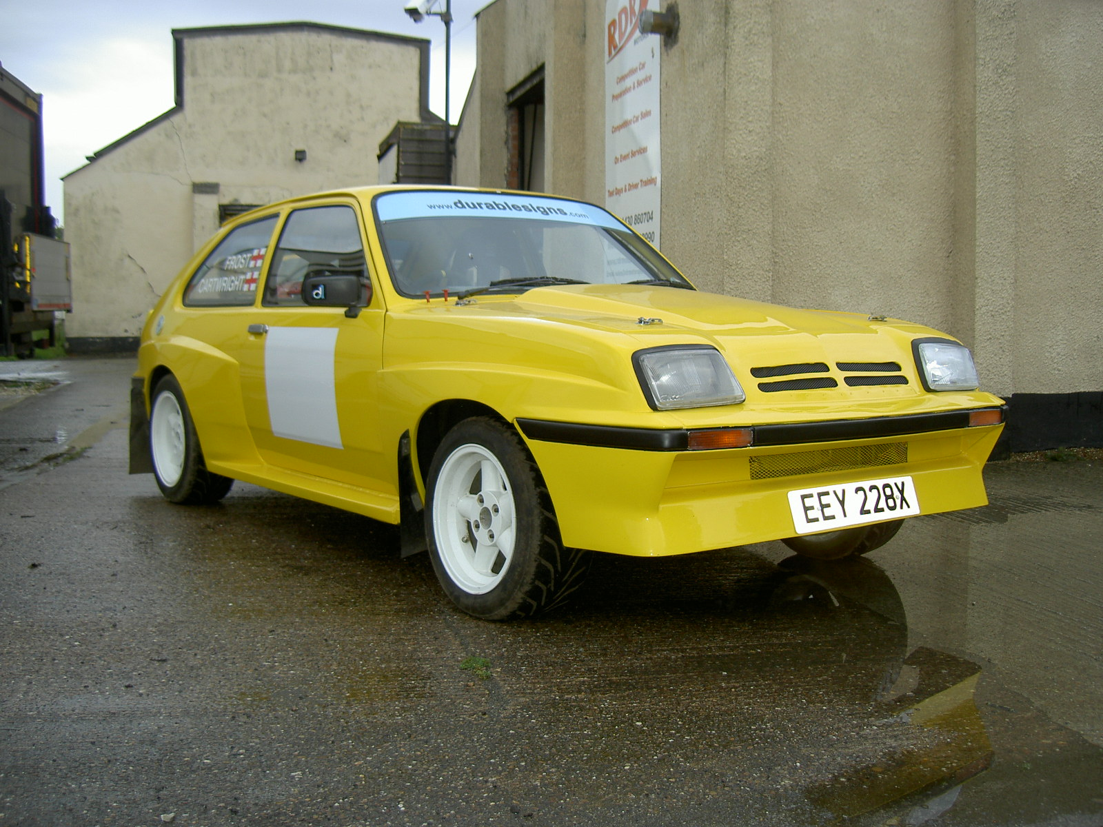 vauxhall chevette hsr tarmac spec rally for sale uk vauxhall chevette hsr tarmac spec
