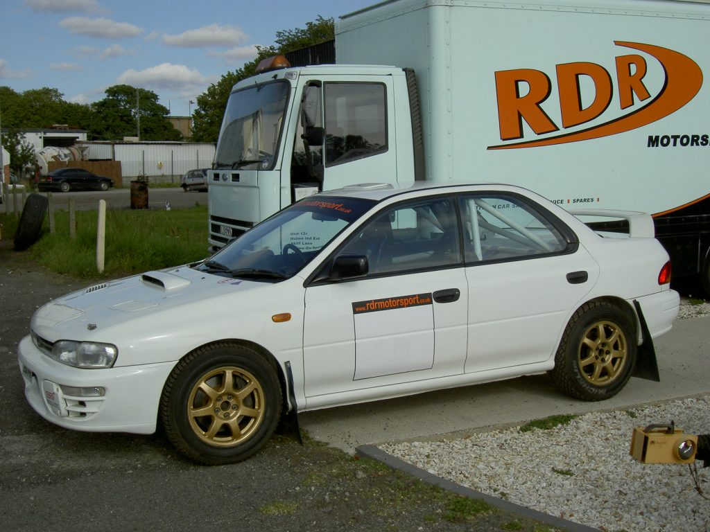 Subaru Impreza WRX RA - Full Spec Rally Car for sale | UK