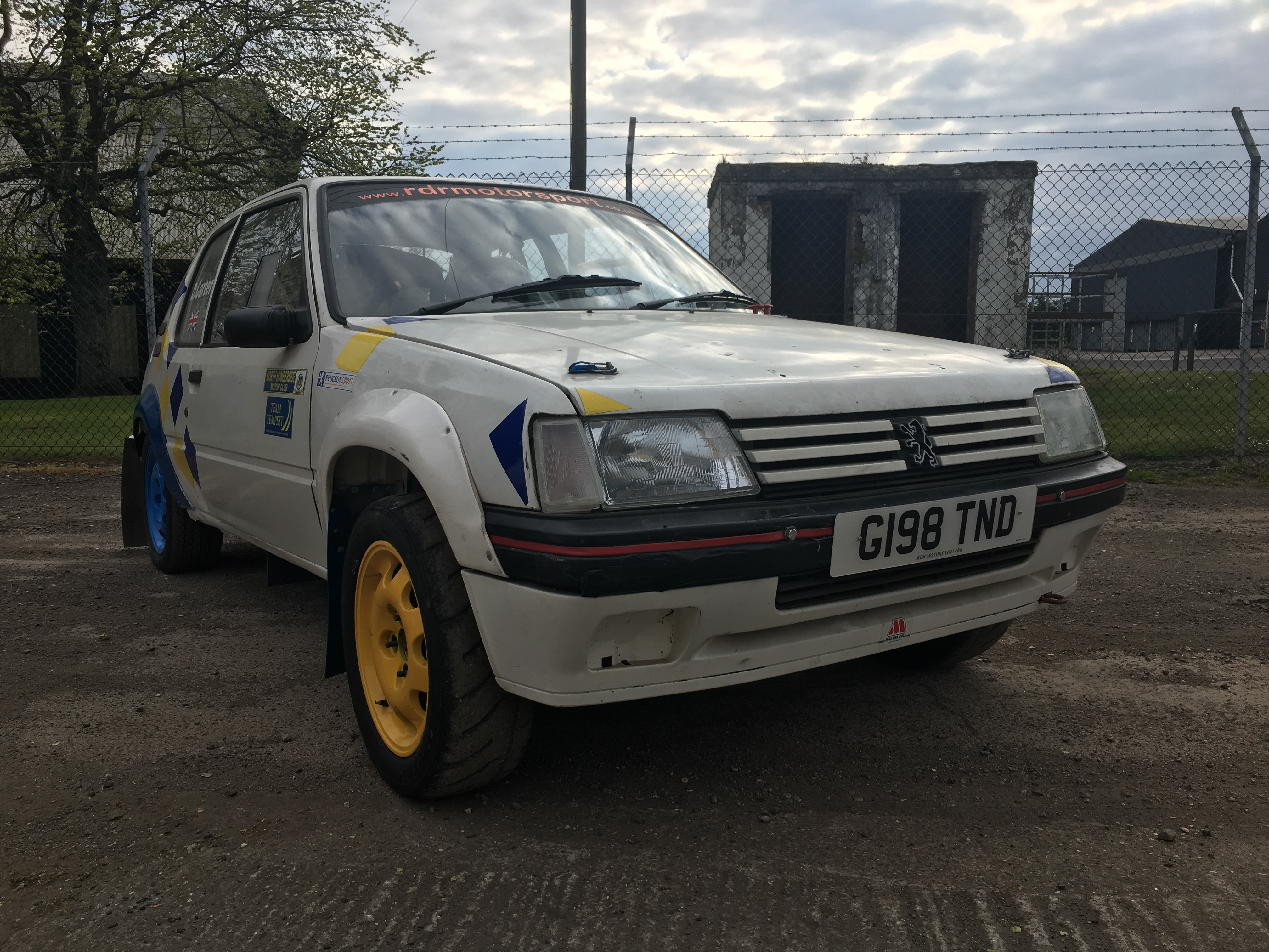 Peugeot 205 GTi fully prepared rally car for sale | UK